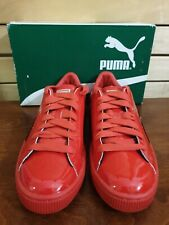 Puma Basket Shoes Sneakers Junior Red Size 6 New