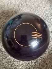 15# Classic Black Quantum by Brunswic Bowling ball, Single Drill, 1 Game