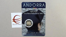 coincard 2 euro 2016 fdc Andorra Andorre андорра 150 Nova Reforma 1866 Casa Vall