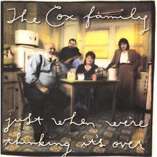 Nur wenn man es vorbei ist Cox Family ♫ CD 1996 Blues Weg, Liebe Lifetime