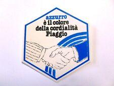 ADESIVO MOTO anni'80 / Old Sticker Vintage PIAGGIO vespa (cm 10 x 12) mani