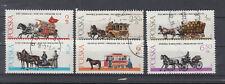Polen Briefmarken 1980 Warschauer Pferdegespanne Mi.2721-26 gestempelt