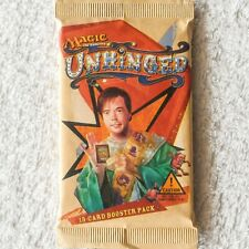 MTG: UNHINGED - Factory Sealed Booster Pack from Booster Box - Magic - English