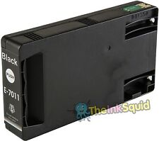 1 Black T7011 non-OEM Ink Cartridge For Epson Pro WP-4525DNF WP-4535DWF