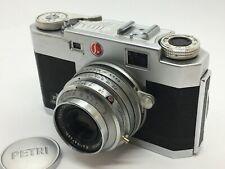 Petri 35 Color Corrected Super 2.8 Camera w/ Orikkor Kuribayashi f/2.8 45mm #162