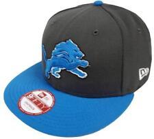 New Era NFL Detroit Lions Graphite Snapback Cap M L 9fifty Limited Edition