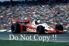 KEKE ROSBERG Theodore RACING WOLF WR3 GERMAN GRAND PRIX 1978 fotografia 3