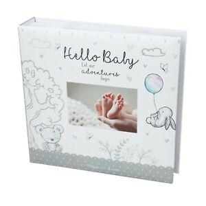 """New Baby - Photo Album - 200 Photo's - 4""""x6"""" - Unisex Design"""
