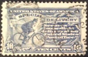 1917 10c Special Delivery single, Scott #E11, Used, VF