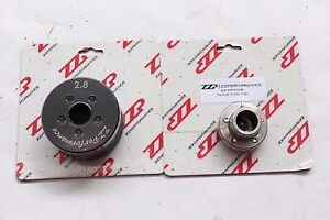 """ZZPerformance M90 3.8L 3800 Modular 2.8"""" Supercharger Pulley System w/ hub"""