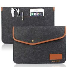 12 Inch MacBook Sleeve Carrying Case Pouch Laptop Bag Envelope Card Slot