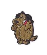 MUTTLEY Iron on / Sew on Patch Embroidered Cartoon Wacky Races PT218