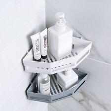 Triangular Shower Shelf Bathroom Corner Bath Rack Storage Holder Organizer 8GT5