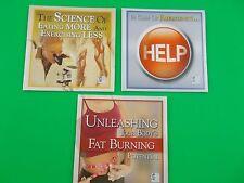 Six 6 Week Body set of 3 CD's fat burning stop science eating Provida exercise