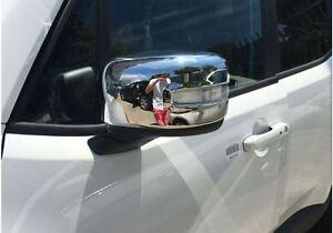 Spiegelkappen Chrom ABS fuer Jeep Renegade, ab Bj 2016