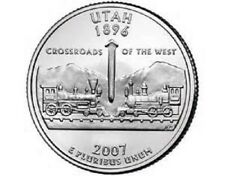 2007 - P  Utah    State Quarter  **BRILLIANT UNCIRCULATED**