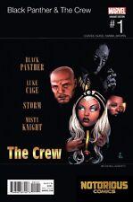 Black Panther Crew #1 Hip Hop Variant Marvel Comics 1st Print