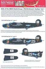 Kits World Decals 1/48 CONSOLIDATED B-24 LIBERATOR ZODIACS Leo (1) & Leo (2)