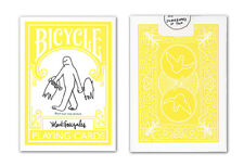 1 deck BICYCLE Mark Gonzales playing cards Skateboard Deck yellow The Gonz