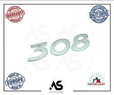 GENUINE FOR PEUGEOT 308 BADGE NUMBER  REAR TEILGATE EMBLEM LOGO 8665VG