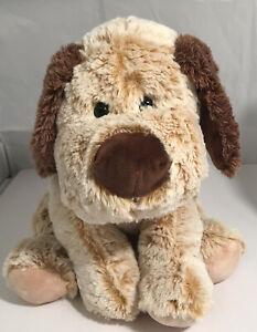 """Unbranded 12"""" Tan Brown Puppy Dog Plush Stuffed Animal Supper Soft Cuddle Toy"""