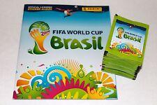 Panini WC WM brasil 2014 14 – 100 bolsas calidad bustine sobres + Album, Mint!