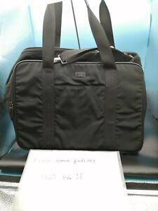 GUCCI Black Dog Carrier Bag Pet Carrier for Small-Medium dog Excellent