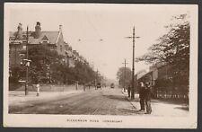Postcard Longsight Manchester Lancashire the Dickenson Road near Birch Lane RP
