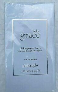 Baby Grace by Philosophy Eau de Parfum Spray, 4 fl oz/120 ml, NIB Sealed