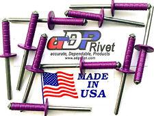 "Multi grip Extra long MEDIUM head 3/16""dx5/8""grip. Buy 50 Purple Ultimate rivets"