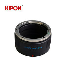 Kipon Adapter For Pentax 645 P645 Lens to FUJI Fujifilm G-Mount GFX 50S Camera