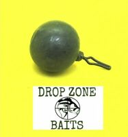 100 Count 1/8 oz Round Drop Shot Sinkers / Weights  Tournament Quality