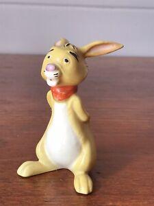 Vintage Beswick Winnie The Pooh Rabbit Walt Disney Figurine England Gold Stamp