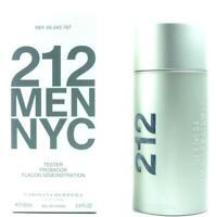 212 Men NYC by Carolina Herrera Cologne 3.4 oz EDT New in box tester