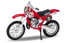 1987 Honda CR250R [Welly 19668] Rot, 1:18 Die Cast