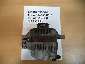 3140084E10 ORIGINAL Lichtmaschine SUZUKI SWIFT III (MZ, EZ)  2009