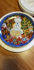Pillsbury Doughboy Christmas Cookie Surprise Plate by Danbury Mint 2002