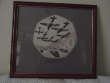 ORIGINAL Design Ltd Ed of 1000 only By John Mills For The D-Day 50p Anniversary