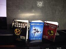 The Hunger Games, Catching Fire and Mocking Jay Mini Books Pendants