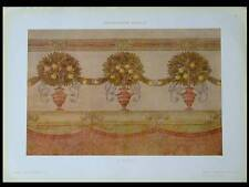 DECORATION MURALE -1910- PHOTOLITHOGRAPHIE, FRASCHETTI