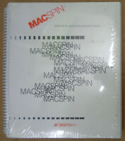 MacSpin : graphical data analysis software - 1987 - BRAND NEW, SEALED