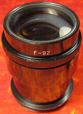 Lens HELIOS F-92 2/92 Cinema Projector fast Film MOVIE 24x36 mm LOMO Soviet USSR