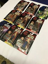 STAR WARS EPISODE 1 THE POWER OF THE FORCE SHADOWS OF THE EMPIRE FIGURE LOT OF 9