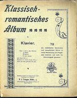 Klassisch-romantisches Album Band 2 - alte Noten , übergroß