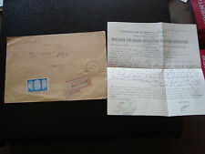 algeria - letter 9/11/1929 (cy33) algeria (stamp n° 83b fifth tree)