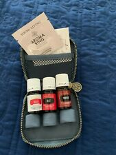 Young Living Wish You Well Collection Essential Oils Digize, RC, Thieves w/case