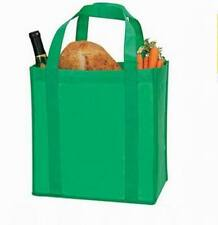Lot of 100 Pieces - Reusable Grocery Shopping Tote Bags – Kelly Green