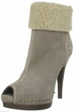 Stiletto Suede Pull On Shoes for Women