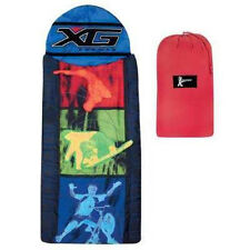 DISNEY X-GAMES Sleeping Bag with Tote NEW