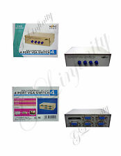 BRAND NEW 4 PORT VGA SWITCH MT-15-4C
